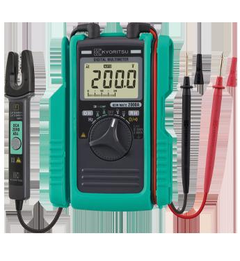 Đồng hồ vạn năng kỹ thuật số với cảm biến kẹp AC / DC KIẾM 2000ANEW