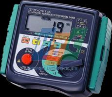 Tính năng của máy kiểm tra dòng dư RCD Kyoritsu 5406A