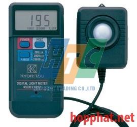 Máy đo cường độ sáng Kyoritsu 5202 (0.1 ~ 19990 Lux)