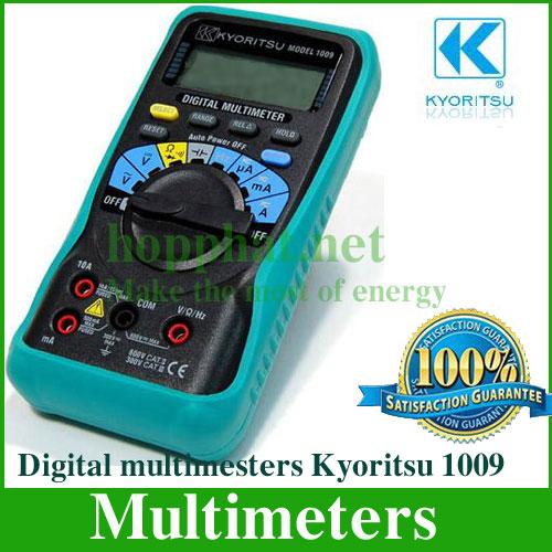 Kyoritsu 1009 - Đồng hồ đo đa năng hiển thị số K1009