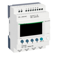 10 I/O, 120-240Vac, 6 inputs, 4 relay outputs, without clock