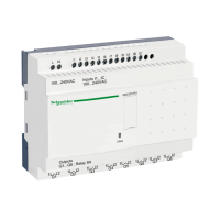 20 I/O, 120-240Vac, 12 inputs, 8 relay outputs, with clock