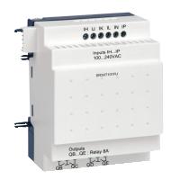 10 pt Digital, 120-240Vac, 6 inputs, 4 relay outputs