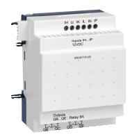 10 pt Digital, 12Vdc, 6 inputs, 4 relay outputs