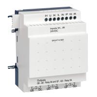 14 pt Digital, 24Vdc, 8 inputs, 6 relay outputs