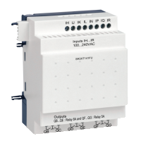 14 pt Digital, 120-240Vac, 8 inputs, 6 relay outputs
