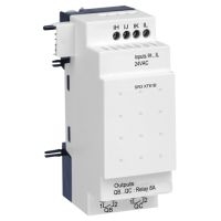 6 pt Digital, 24Vac, 4 inputs, 2 relay outputs