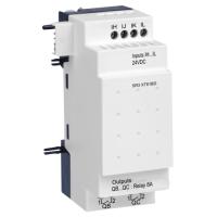 6 pt Digital, 24Vdc, 4 inputs, 2 relay outputs