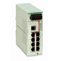 Ethernet TCP/IP basic managed switch - ConneXium - 8 ports for copper