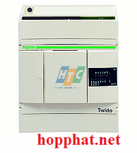 extendable PLC base Twido - 100..240 V AC supply - 6 I 24 V DC - 4 O relay