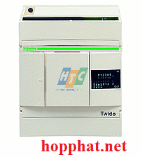compact PLC base Twido - 24 V DC supply - 6 I 24 V DC - 4 O relay