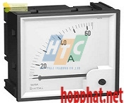 AMMETER 72X72 1,3IN WITHOUT DIAL - 16004
