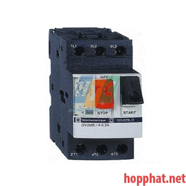 Cầu Dao Bảo Vệ Động Cơ 3P 0.4-0.63A- GV2ME04