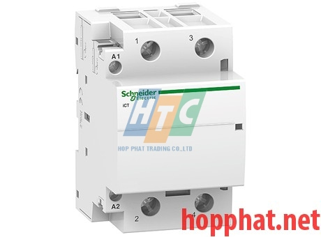 Khởi động từ  ICT 2P 25A 2NO 230Vac- A9C20732