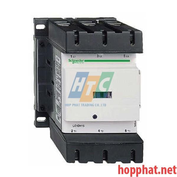 Khởi động từ - 4P(4 NO) - AC-1 - <= 440 V 200 A - 230 V AC coil- LC1D115004P7