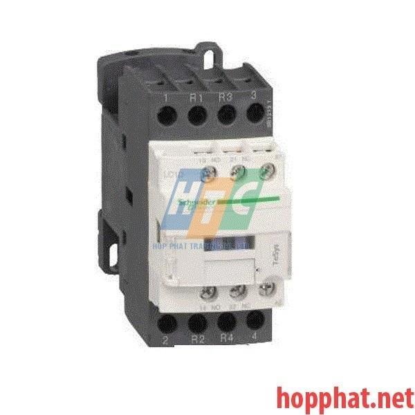 Khởi động từ - 4P(2 NO + 2 NC) - AC-1 - <= 440 V 25 A - 400 V AC coil- LC1D128V7
