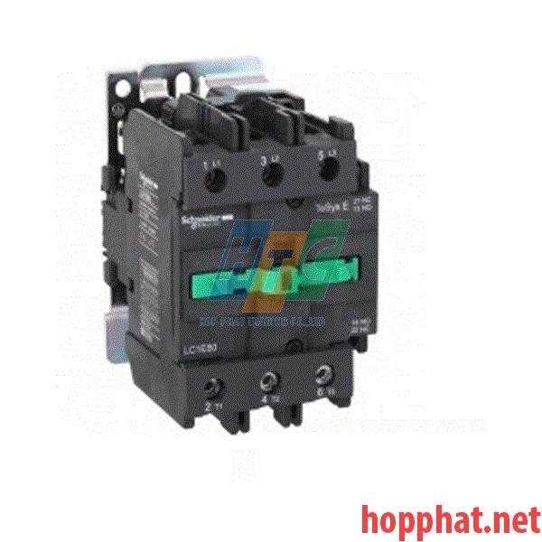 Khởi động từ  3P 12A 1Nc 5,5Kw 220Vac- LC1E1201M5