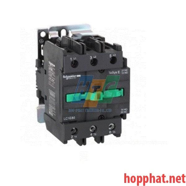 Khởi động từ  3P 12A 1No 5,5Kw 220Vac- LC1E1210M5