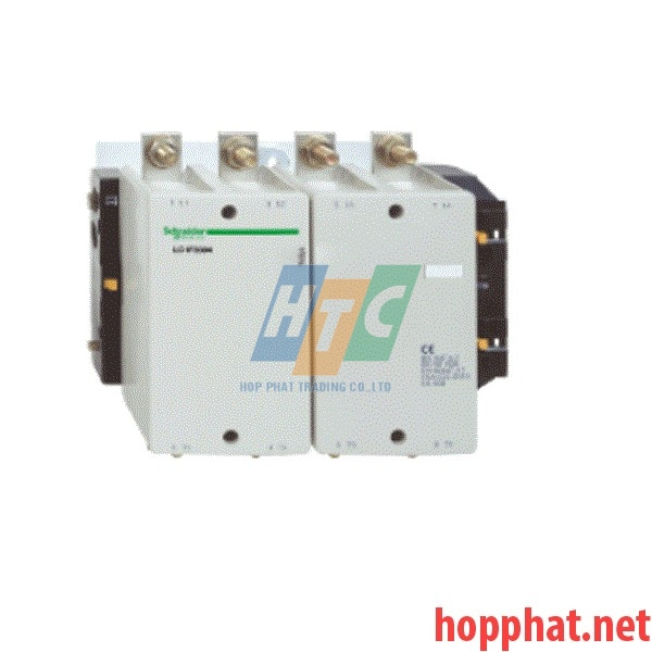 TeSys F contactor - 4P(4 NO) - AC-1 - <= 440 V 500 A - without coil