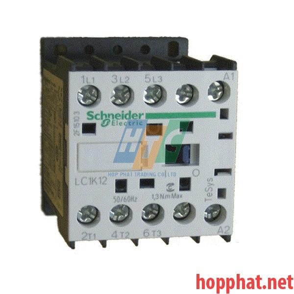 Khởi động từ  3P 12A 24V 1Nc- LC1K1201B7