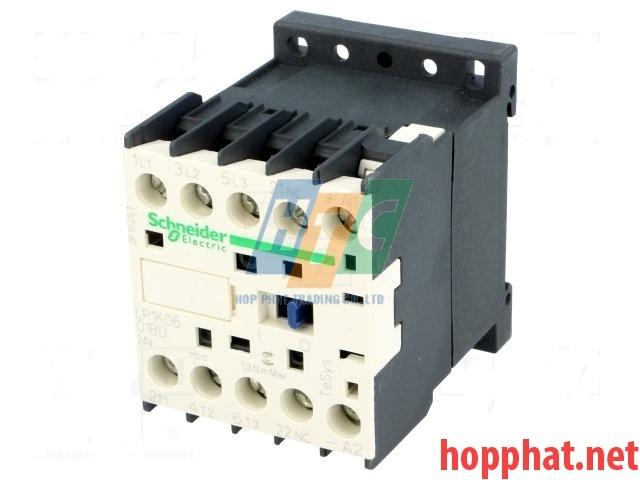 Khởi động từ  3P 12A 24V 1Nc- LP1K1201BD