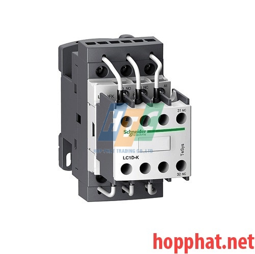 Contactor Tụ Bù 3P 12.5Kvar coil 380V - LC1DFK11Q7