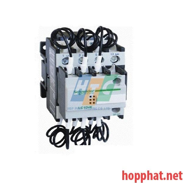 Contactor Tụ Bù 3P 20Kvar coil 200V - LC1DLK02M7