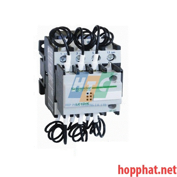 Contactor Tụ Bù 20Kvar 415Vac Coil 415Vac - LC1DLK11N7