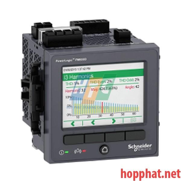 Đồng hồ giám sát điện năng, thông báo email, độ chính xác 0,2%, đo sóng hài-63 bậc, 512MB - METSEPM8240