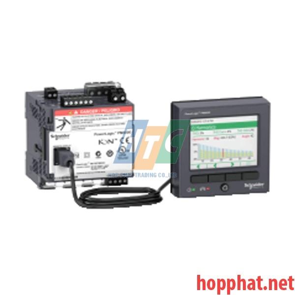 Đồng hồ giám sát điện năng, báo email, độ chính xác 0,2%,sóng hài-63 bậc, 512MB điều khiển từ xa - METSEPM8244