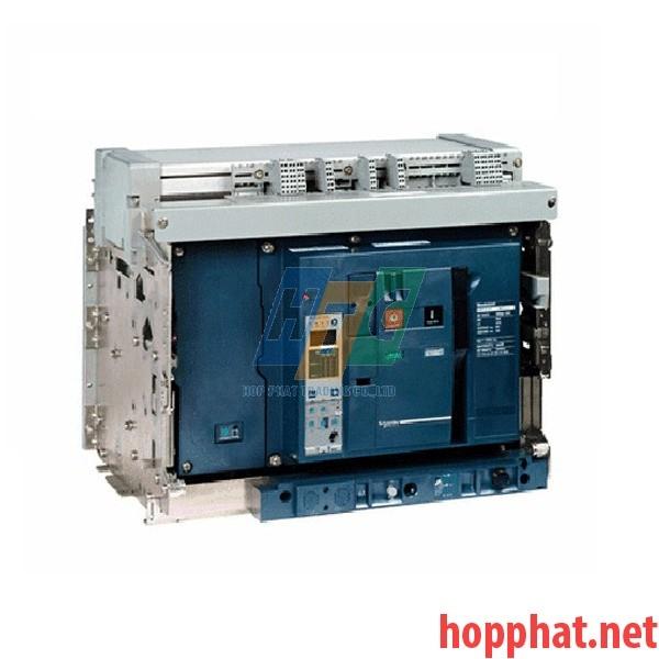 Máy cắt không khí ACB 4P 1600A 100kA DRAWOUT - NW16H24D2