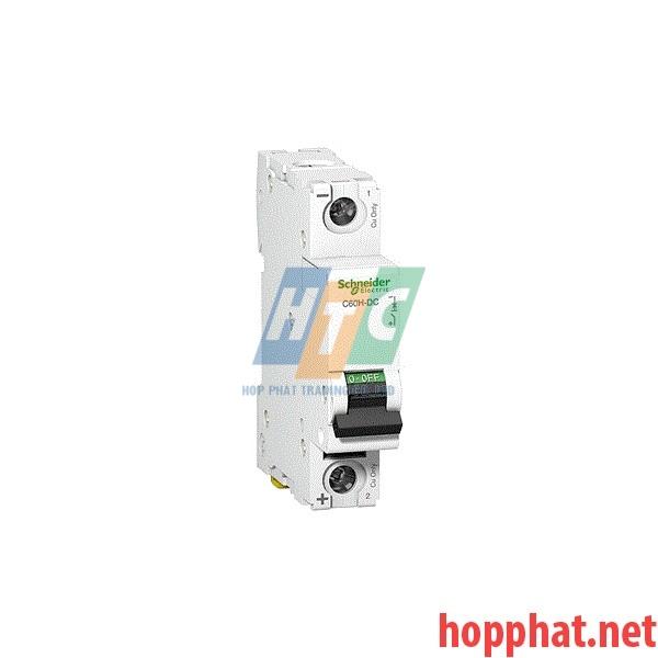 Át tô mát MCB 1P 63A 10kA 220VDC - A9N61519