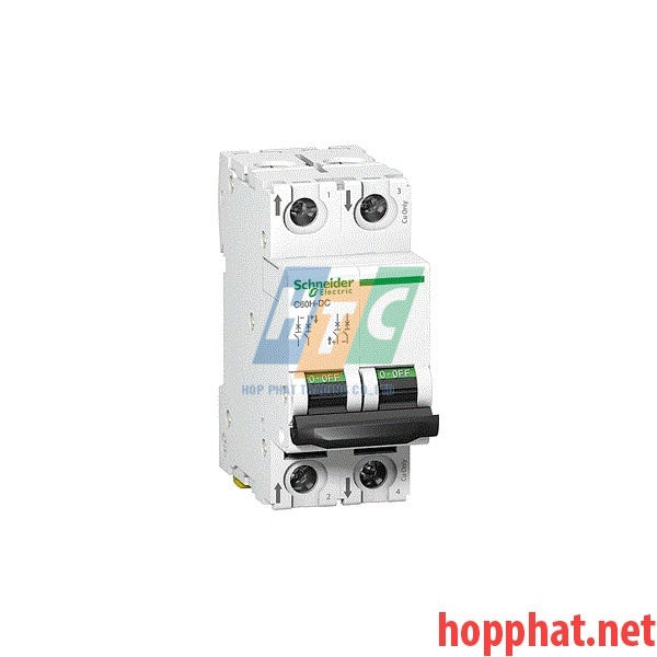 Át tô mát MCB 2P 4A 20kA 220VDC - A9N61524