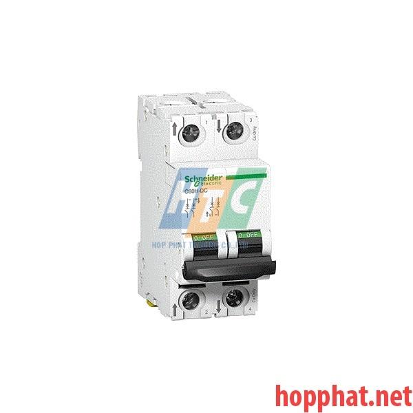 Át tô mát MCB 2P 63A 20kA 220VDC - A9N61539