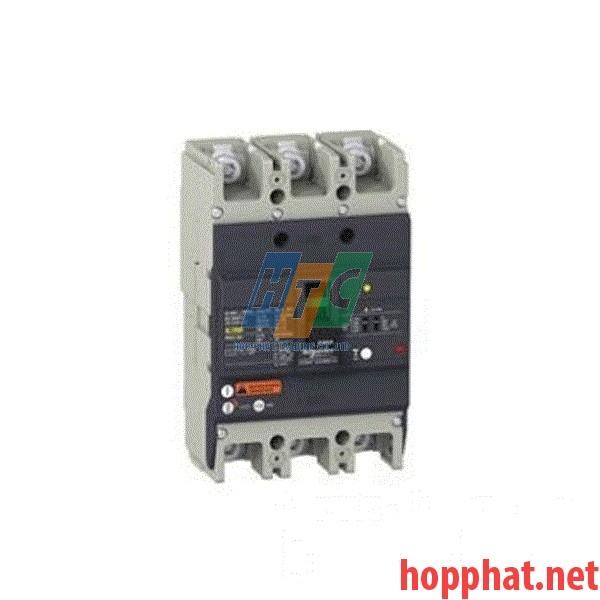 Át tô mát chống dòng dò MCCB 3P 160A 0.1-1A 36kA EZCV250H3160