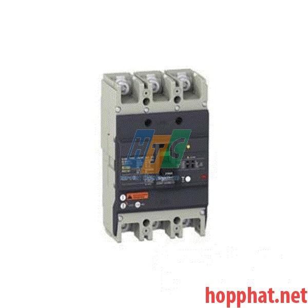 Át tô mát chống dòng dò MCCB 3P 63A 25kA (0.1-1A) EZCV250N3063