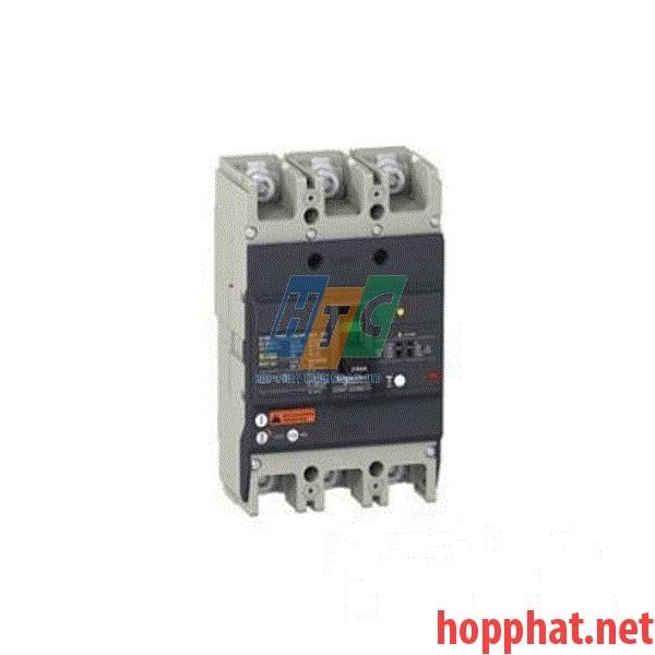 Át tô mát chống dòng dò MCCB 3P 100A 25kA (0.1-1A) EZCV250N3100
