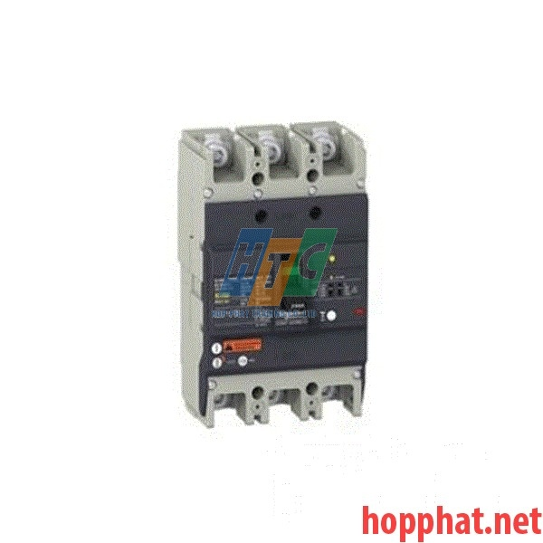 Át tô mát chống dòng dò MCCB 3P 160A 25kA (0.1-1A) EZCV250N3160