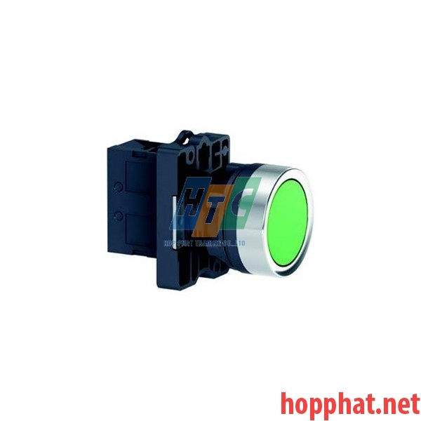 Nút nhấn thả Ø22, N/O, không ký hiệu, màu đen - XA2EA21