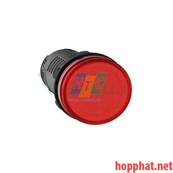 Đèn báo Ø22 điện áp 380-400V AC màu đỏ - XA2EVQ4LC
