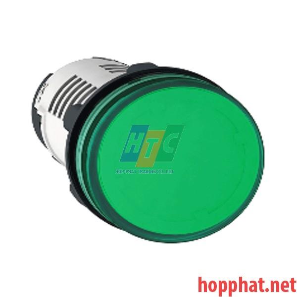 Đèn LED điện áp 230Vac màu xanh lá - XB7EV03MP
