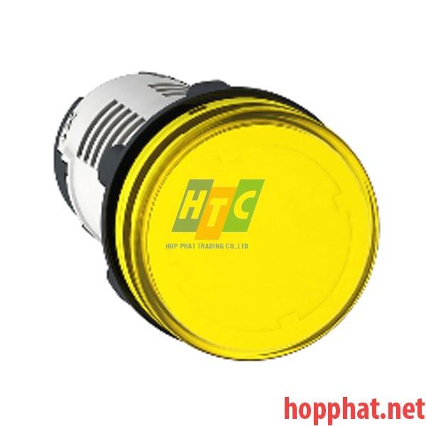 Đèn LED điện áp 230Vac màu vàng - XB7EV05MP