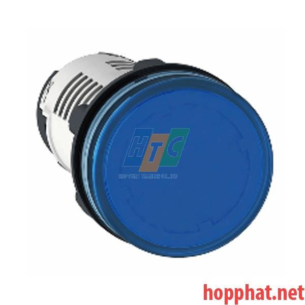 Đèn LED điện áp 24Vdc màu xanh dương nhạt - XB7EV06BP