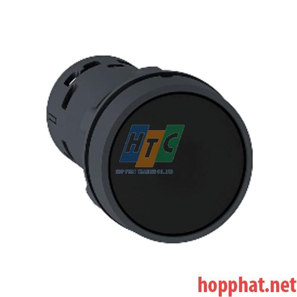 Nút nhấn thả Ø 22mm, 1 N/O, màu đen - XB7NA21