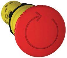 RED EMERGENCY STOP TRIGGER TURN TO RELEA - XB7NS8444