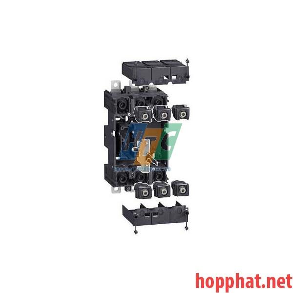 MCCB 4P NSX100/160/250 +Plug-in kit