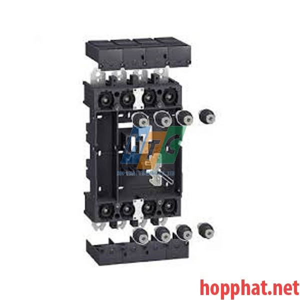 MCCB 4P NSX400/630 +Plug-in kit