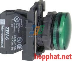 24VDC/AC LED PILOT LIGHT Green - XB5AVB3
