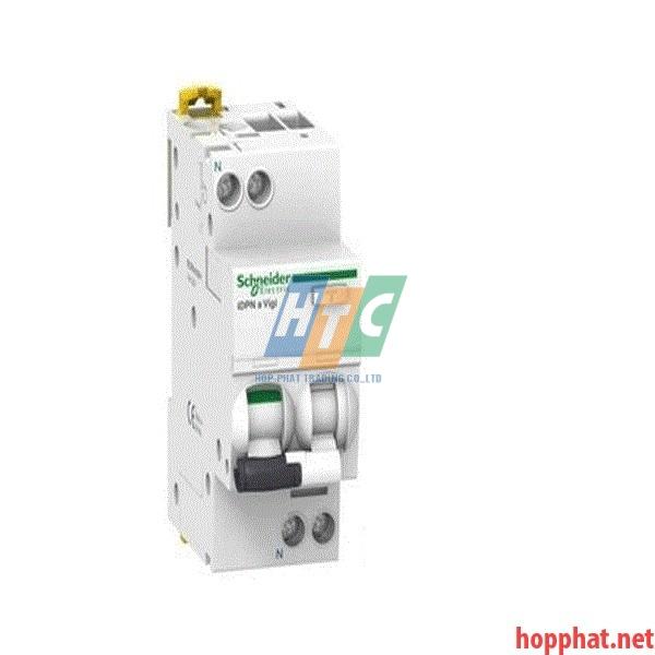 RCBO ( Quá tải, dòng rò ) 1P+N 10A 30mA 6kA - A9D31610