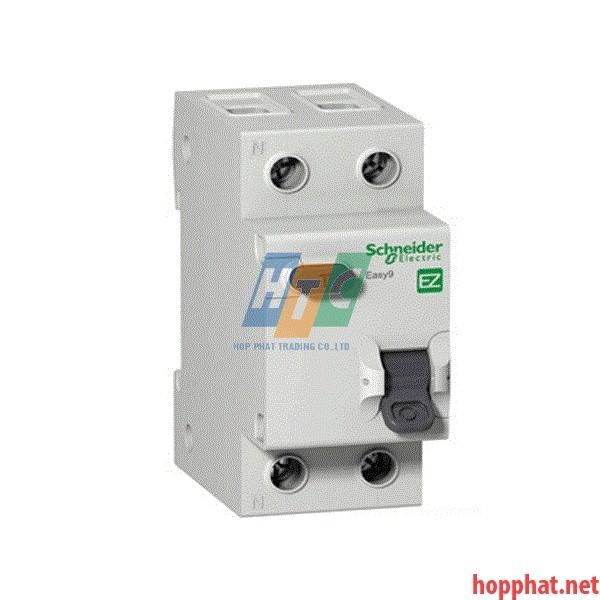 RCBO ( Quá tải, dòng rò ) 1P+N 25A 30mA 4,5kA - EZ9D34625